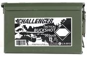 """Challenger 12ga 2 3/4"""" 00Buck 175rds"""