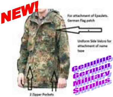 b8c95230f6a1d BW Camo Parka, Without Lining - Frontier Firearms & Army Surplus