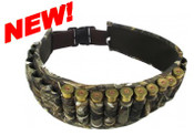 Shotgun Shell Belt - Hunter's Leaf Camo
