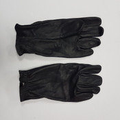 CFS Black Leather Gloves