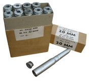 U.S. G.I. 20 mm Practice Round with Removable Base, Case of 10.