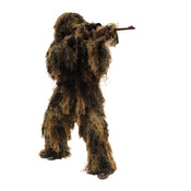 Red Rock 5 Piece Ghillie Suit (Woodland Camo) - XL/2XL