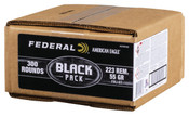Federal Black Pack .223 55gr FMJ BT 900rds (3 x 300 Round Cases)