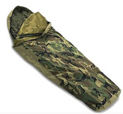 Tennier Woodland Camouflage Waterproof Bivy Cover, Good Condition