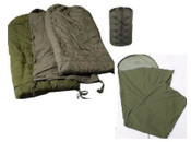 Canadian Forces Arctic, Cold Weather Sleeping Bag  Excellent Condition.  Bivy Bag Included!