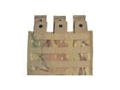 Surplus US Molle M4 Three Mag Side X Side Pouch Multicam