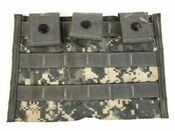 Surplus US Molle M4 3 Mag Pouch ACU