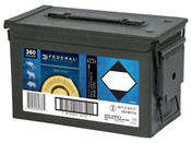 Federal Power Shok 223 Rem 55gr SP 360rds W/ Ammo Can
