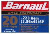 Barnaul 62 Grain 223 Rem SP 500  Rounds