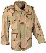 US M65 Military Field Jacket- Desert Camo