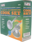 WORLD FAMOUS® ALUMINUM MESS KIT
