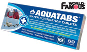 World Famous Aquatabs Water Purification Tablets