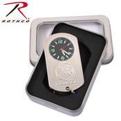 Rothco Silver Dog Tag Watch
