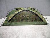 Combat Stealth Woodland Camo Combat Tent, Unissued