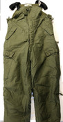 CAF Surplus Cold Weather Trousers- OD Size 9 Long/Large Good Condition