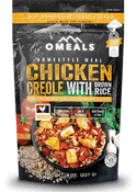 Omeals Self Heating Ready to Eat Meals- Chicken Creole With Brown Rice