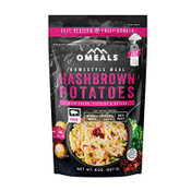 Omeals Self Heating Ready to Eat Meals- Hashbrown Potatoes