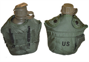 US Surplus Canteen and Insulated Cover - 1 Quart