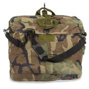 USGI Flyers Helmet Bag, Woodland Camo