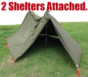 CFS Ground Sheet Half Shelter, Free With Any Order Over  $50.00!