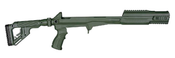 Fab Defense Full Chassis Folding Stock Kit - OD Green