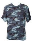 Parklands Sky Blue Camo T-Shirt
