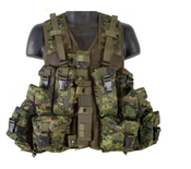 Parklands Canadian Style Tactical Vest - Canadian Digital Camo