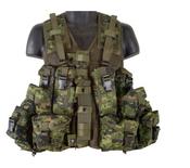 Parklands Canadian Style Tactical Vest - Black