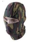 Parklands Lightweight Face Mask - Black