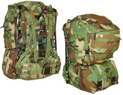 US Surplus Woodland Camo molle Pack