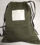 "New  Canadian Military ""Patients Effects"" Cloth Bag."