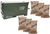 MRE Star 6-MRE Pack  Meals (Type B) Packed In 40mm Ammo Can!
