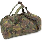 Dutch Army Woodland Backpack / Duffel Bag