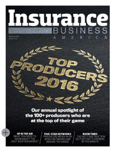 2016 Insurance Business America March issue (available for immediate download)
