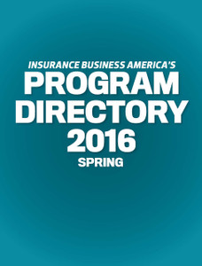 2016 Insurance Business Program Directory (available for immediate download)