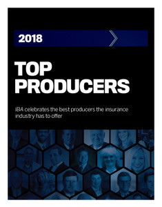 2018 Insurance Business Top Producers (available for immediate download)