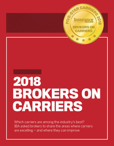 2018 Insurance Business Five-Star Carriers (available for immediate download)