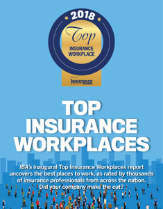 2018 Insurance Business Top Insurance Workplaces (available for immediate download)
