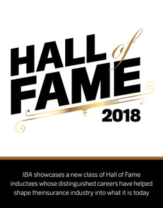 2018 Insurance Business Hall of Fame (available for immediate download)