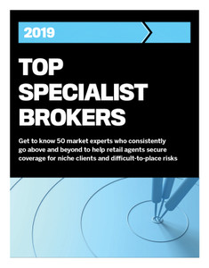 2019 Insurance Business Top Specialist Brokers (available for immediate download)