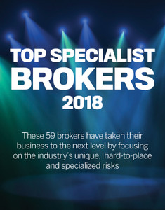 2018 Insurance Business Top Specialist Brokers (available for immediate download)