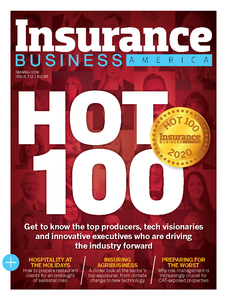 2020 Insurance Business America January issue (available for immediate download)
