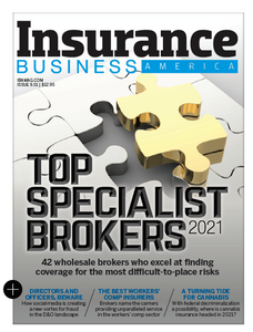 2021 Insurance Business America February issue (available for immediate download)