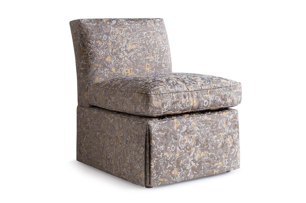 Sandy High Back Slipper Chair Carlyle