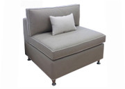 Armless Chair Bed