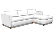 Third Avenue Sectional with Chaise (Third Ave Collection)