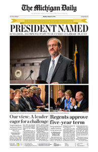 Mark Schlissel Named U of M's 14th President