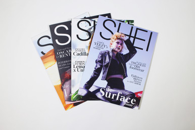 Includes two magazines during the year of the subscription (one in December and one in April).