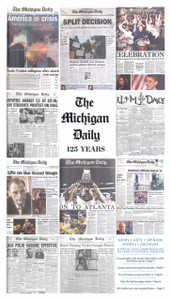 Michigan Daily 125th Anniversary Commemorative Edition