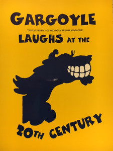 """Gargoyle Laughs at the 20th Century"" Commemorative Book"